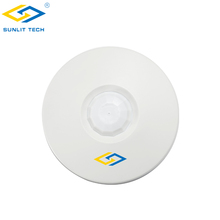 Wireless 433mhz Home Security Alarm Wireless Roof Ceiling Infrared Sensor With Battery Operated
