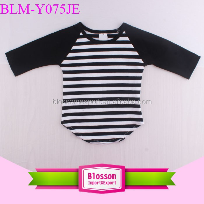 New pattern blank raglan t shirt wholesale cotton 3/4 Sleeve baseball Shirts curve hem raglan baseball t shirt