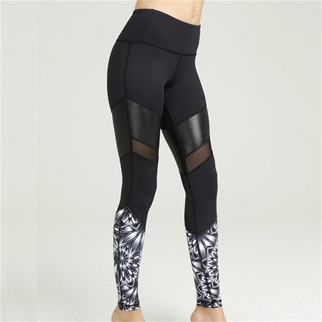 Wholesale Custom Compression Sportswear Fitness Yoga Pants Leggings Blank Yoga Tights Pants For Women