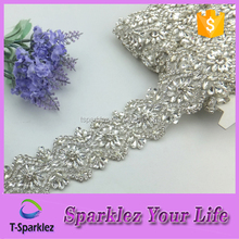 Bulk sale crystal embellishments for prom dress