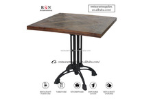 Antique Solid Wood Dining Table For Restaurant