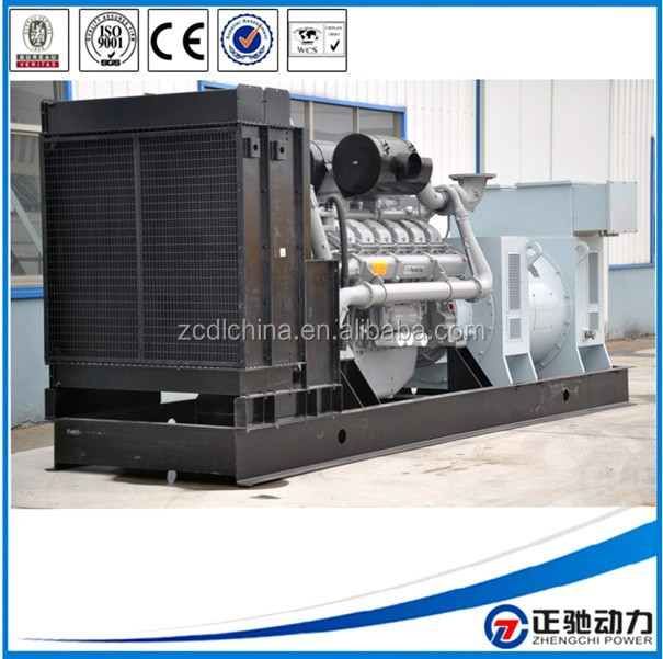 2015 Updated price of 1000kva diesel generator with Perkins engine 4008-TAG2A