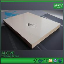 4*8 15mm pvc wpc (wood plastic composite) foam board construction building material