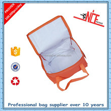 custom size insulated non-woven grocery bag