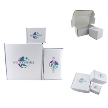 Custom corrugated box kraft wine glass gift packaging boxes recycled corrugated paper box