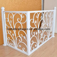 indoor handrails,wrought irom window railing,wrought iron stair railing parts