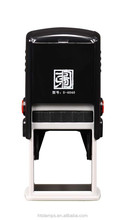 Epress Square 30x30 mm Black Automatic Stamp /Self-inking Stamper/engrave laser machine