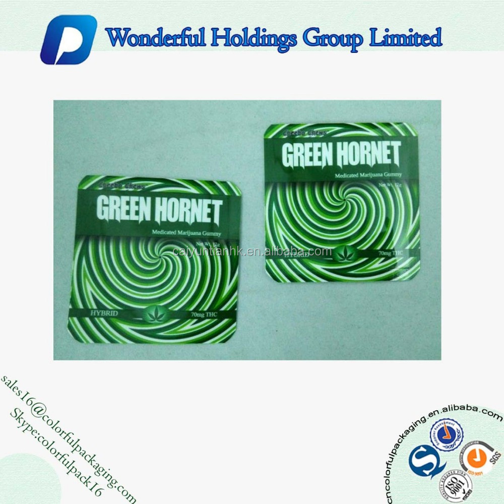 Three side seal bag with round corner/Heat seal sealing packaging bag/Plastic bag