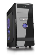 2015 hot selling new ATX computer case with piano paiting black color