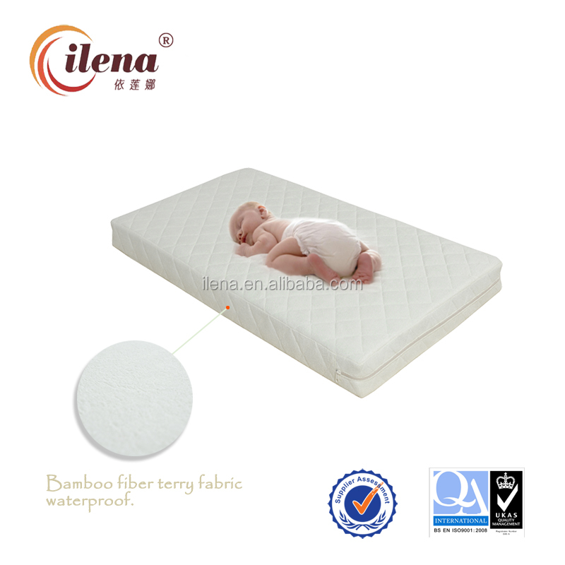 IL6-BB3 Bamboo fibre waterproof pocket spring baby mattress