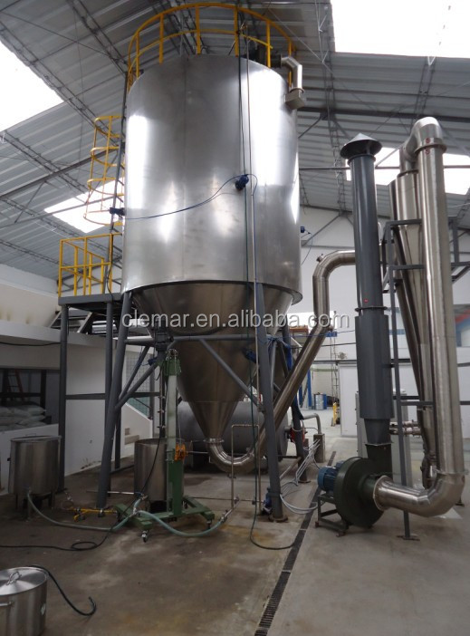 Blood spray dryer