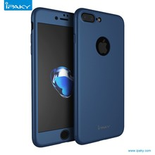 2017 trending products ipaky 360 case full <strong>protective</strong> with free tempered glass phone case for iphone 7 case
