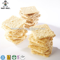 Square Shaped Rice Cracker Organic Rice Crisps