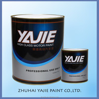 China Brands High Gloss Paint Spray 2K White Color Topcoat Acrylic Auto Car Paint