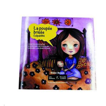 Best quality kids english story book in china