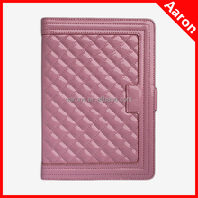 Diamond case patent leather case for iPad 5 with card slots