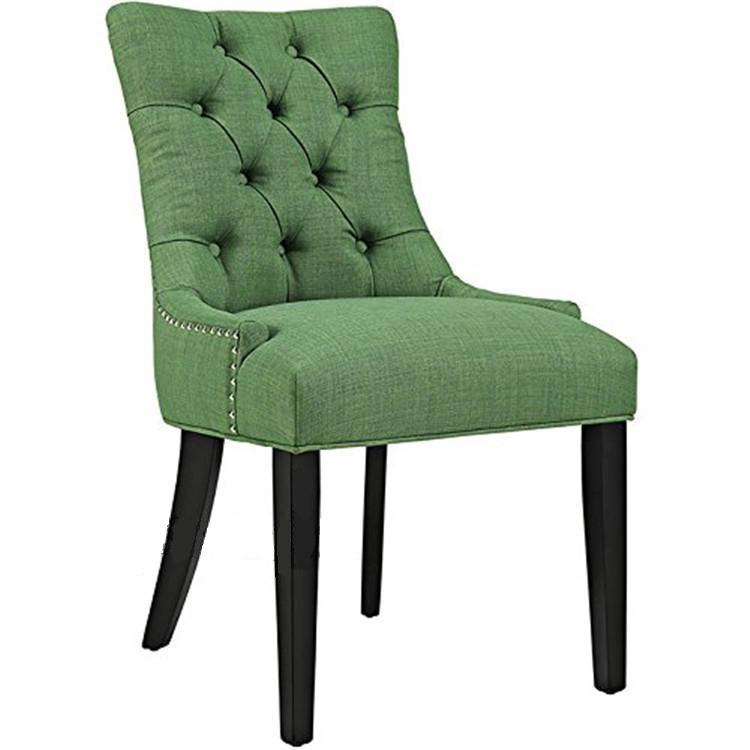 D23 Elegant Classic Tufted Button Upholstered Accent Contemporary Dining Chairs