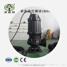 High quality large capacity submersible sewage pump non clog pump