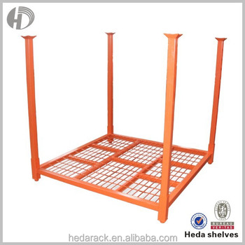 Experienced Factory Warehouse Storage Heavy Duty Steel Pallet