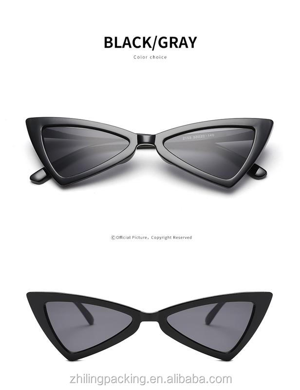 ZHILING 2020 fashion sun glasses women retro cat eye sunglasses with great price