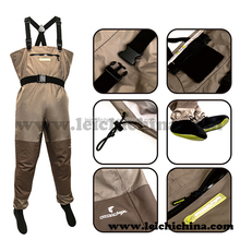Breathable rubber/ neoprene fly fishing custom made wader