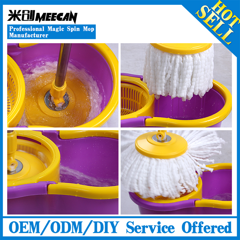 As seen on TV Magic 360 Easy life Spin Mop with cotton mop head