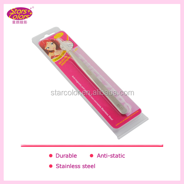 New Stylish Anti-Static Eyelash Extension Tweezers / Stainless Steel Tweezers