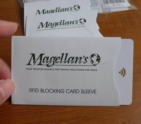 Safety Sleeves RFID Protectors Credit Card / Identity Theft Protection