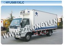 cheaper 3-6tons JAC refrigerator truck,howo refrigerator truck,refrigerated box car