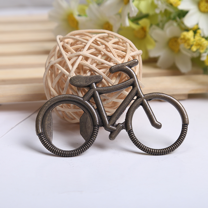 creative bicycle beer bottle opener china small gift wedding gift items
