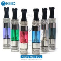 In stock!! dry herb vaporizer aspire maxi bdc clearomizer from China supplier