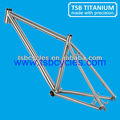"hot sale titanium 29er bicycle frame 1-1/8"" to 1-1/2"" taper headtube TSB-CBM1001"