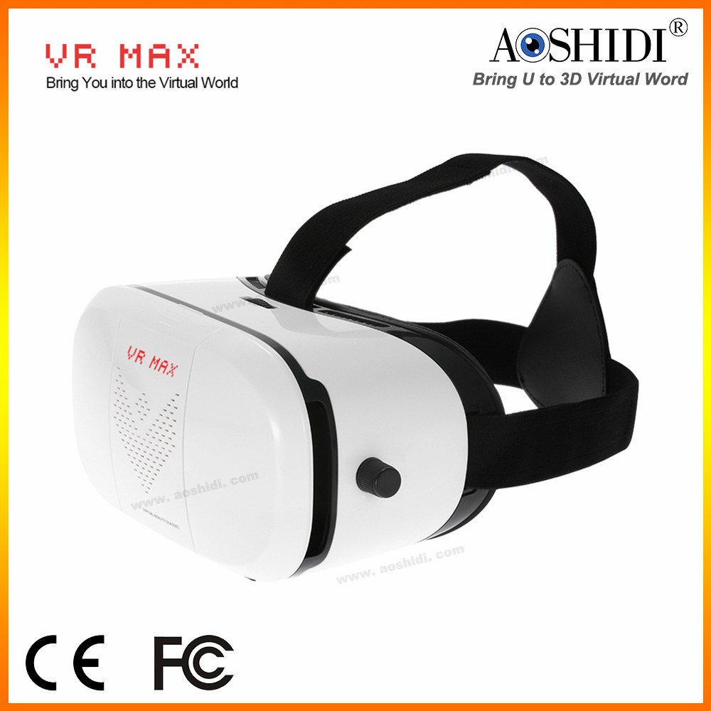 2016 top quality vr 3d glasses box for android smartphone