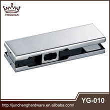 China Product 304 Stainless Steel L Shape Heavy Duty Glass Door Hinge