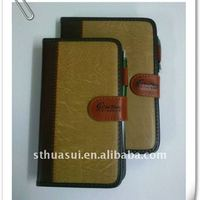 Customized Leathertte Diary Notebook With Pen