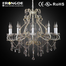 2015 High Quality luxury crystal chandelier candle holders