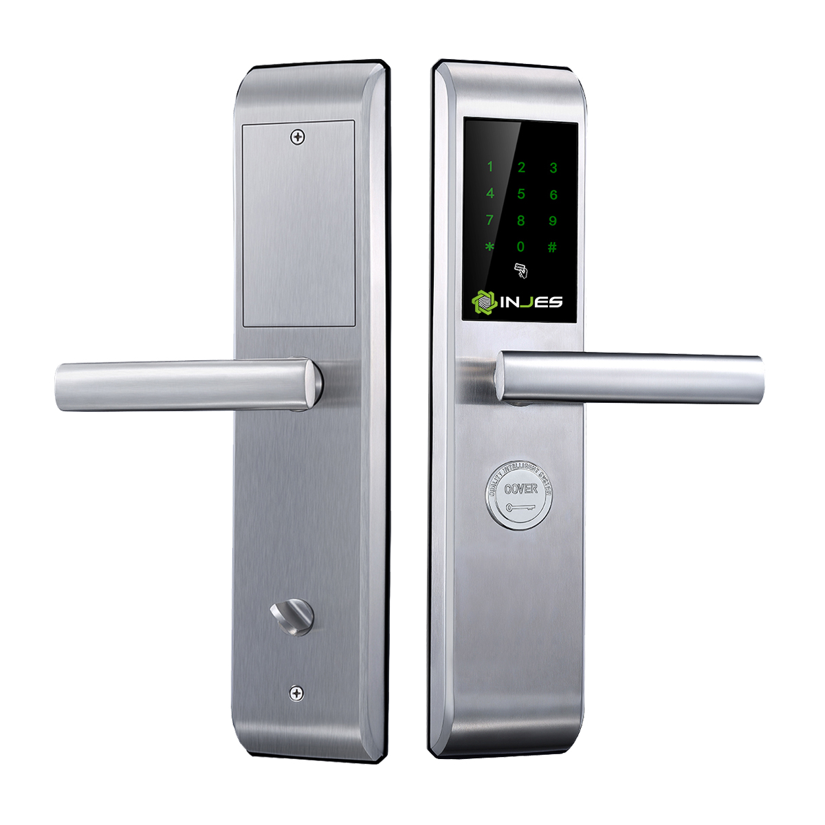 High Quality Waterproof <strong>Security</strong> Sliding Smart Glass Door Lock for Home School Hotel