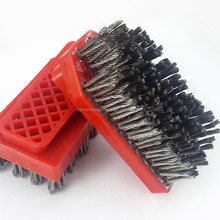 Durable frankfurt reinforced antique steel wire brush for granite marble and stone polishing