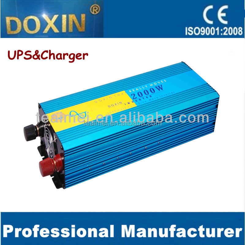 Peak power 4000w dc12v to ac220v 2000w pure sine wave power Inverter/CE/50Hz/60hz