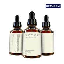 effective natural vitamin c hyaluronic acid anti-aging serum