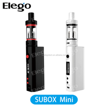 Elego Ecigs vaporizers wholesale Kanger Subox mini starter kit mini, subtank mini bell cap