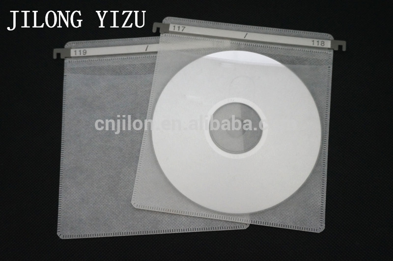 Multicolor Blow Film 2 Discs Plastic Sleeve