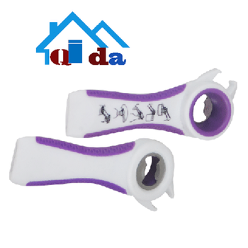 Convenient plastic stainless steel multi-function beer canned plastic water bottle cap opener