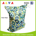 Alvababy Waterproof Two Pockets Diaper Bag Baby Cloth Diaper Wet Bag