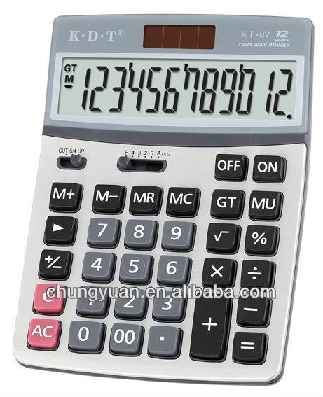 euro converter calculator KT-8V