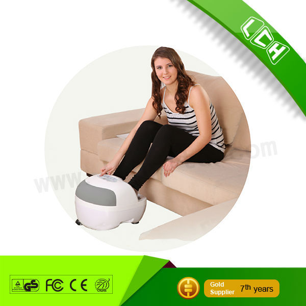 2016 promotional new airbag finger pressing Shiatsu rolling reflexology foot massager for health care 3 intensity level optional