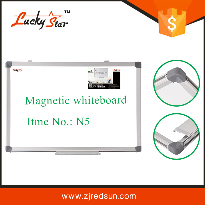 Magnetic Porcelain enamel Whiteboard with Aluminium Frame, Portable Interactive Whiteboard,Ceramic Writing White board