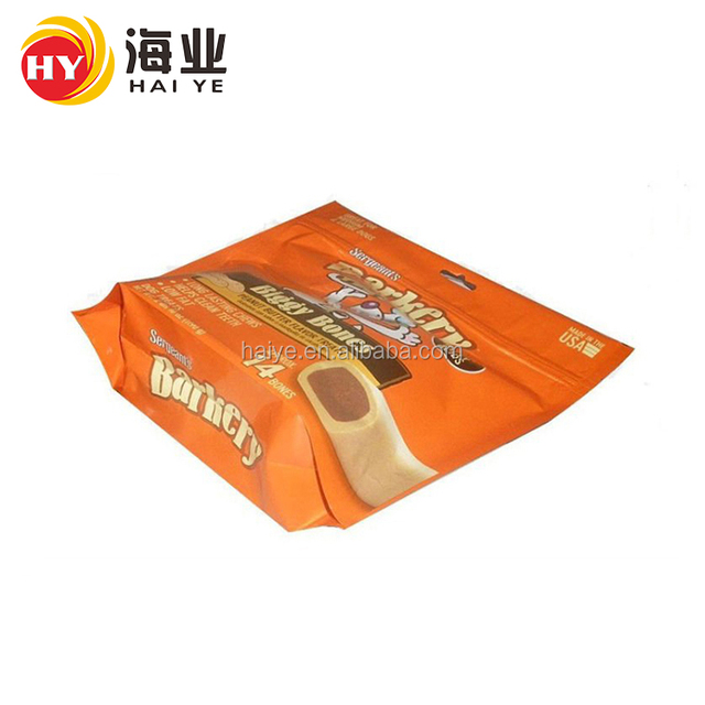 Multifunction Biodegradable Plastic Dried Food Packaging Stand Up Ziplock Bag