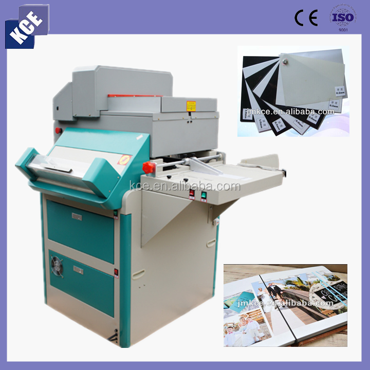 Special price multifunction wedding album making machine, all in one photo book producing machine with CNC paper cutter