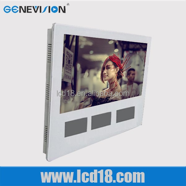 19 inch China Hot Selling High Definition Type and Big Hard Disk Capacity hd media player/media advertising display
